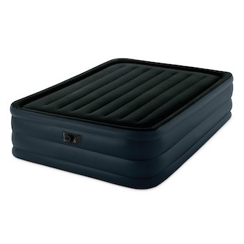 Intex raised downy airbed with built in electric pump