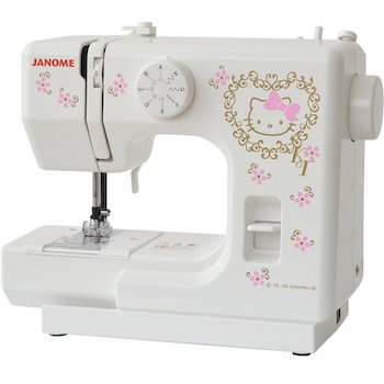 Janome hello kitty såewing machine