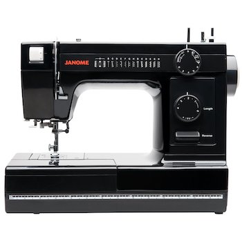 Janome industrial grade aluminum body hd1000 black edition sewing machine
