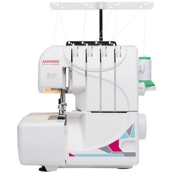Janome mod 8933 serger with lay in threading