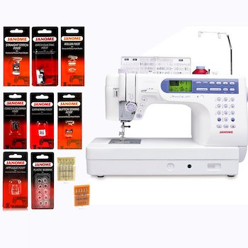 Janome memory craft 6500p : mc6500p computerized sewing and embroidery machine