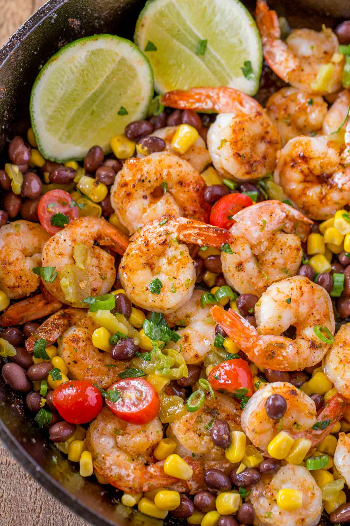 Mexican shrimp burrito bowl