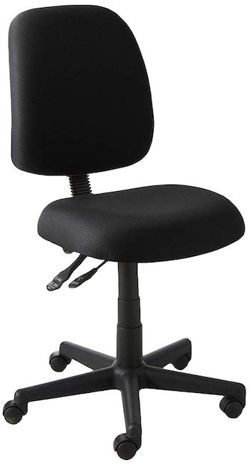 Ofm core collection posture series armless mid back task chair