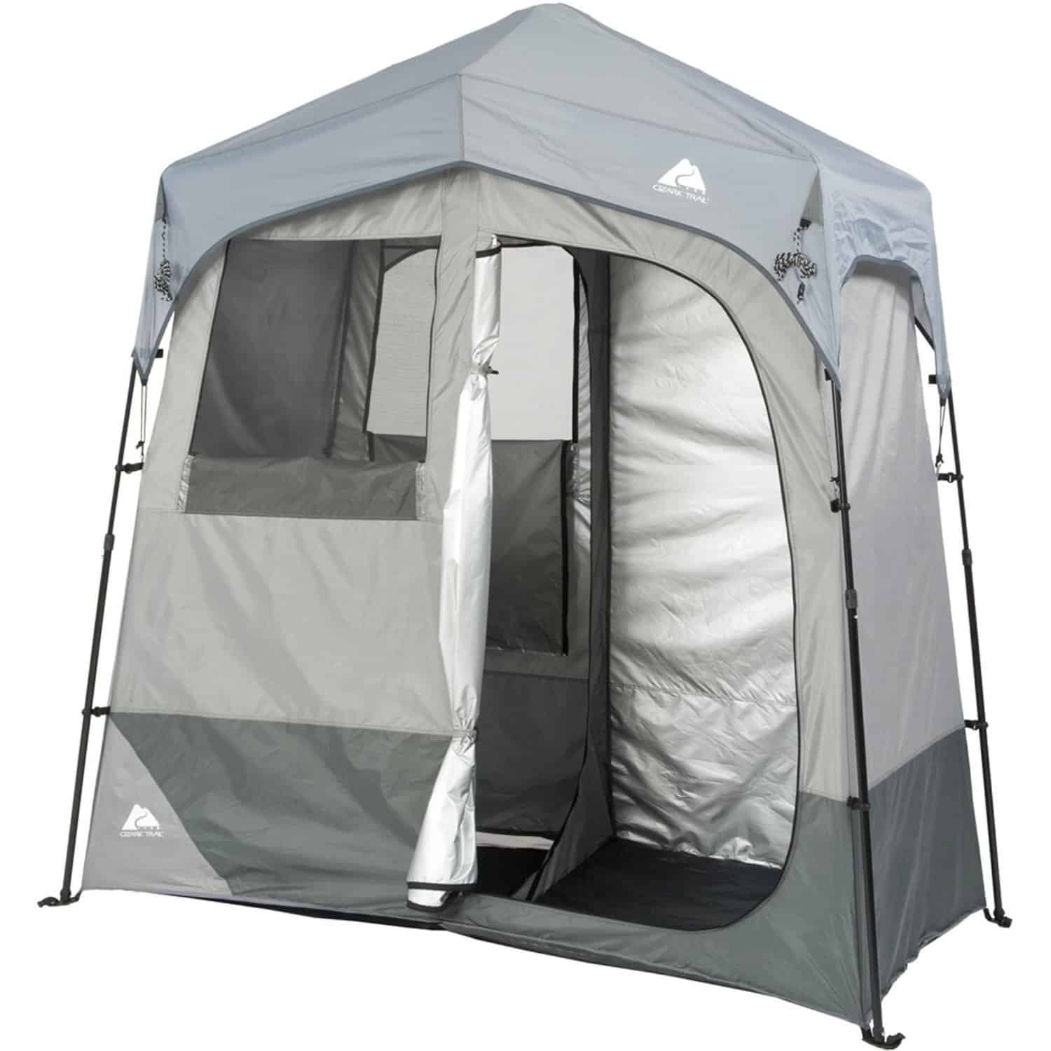 Ozark trail instant 2 room shower:changing shelter