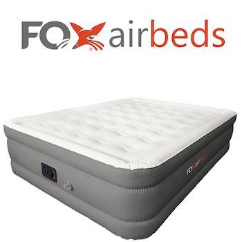 Plush high rise air mattress