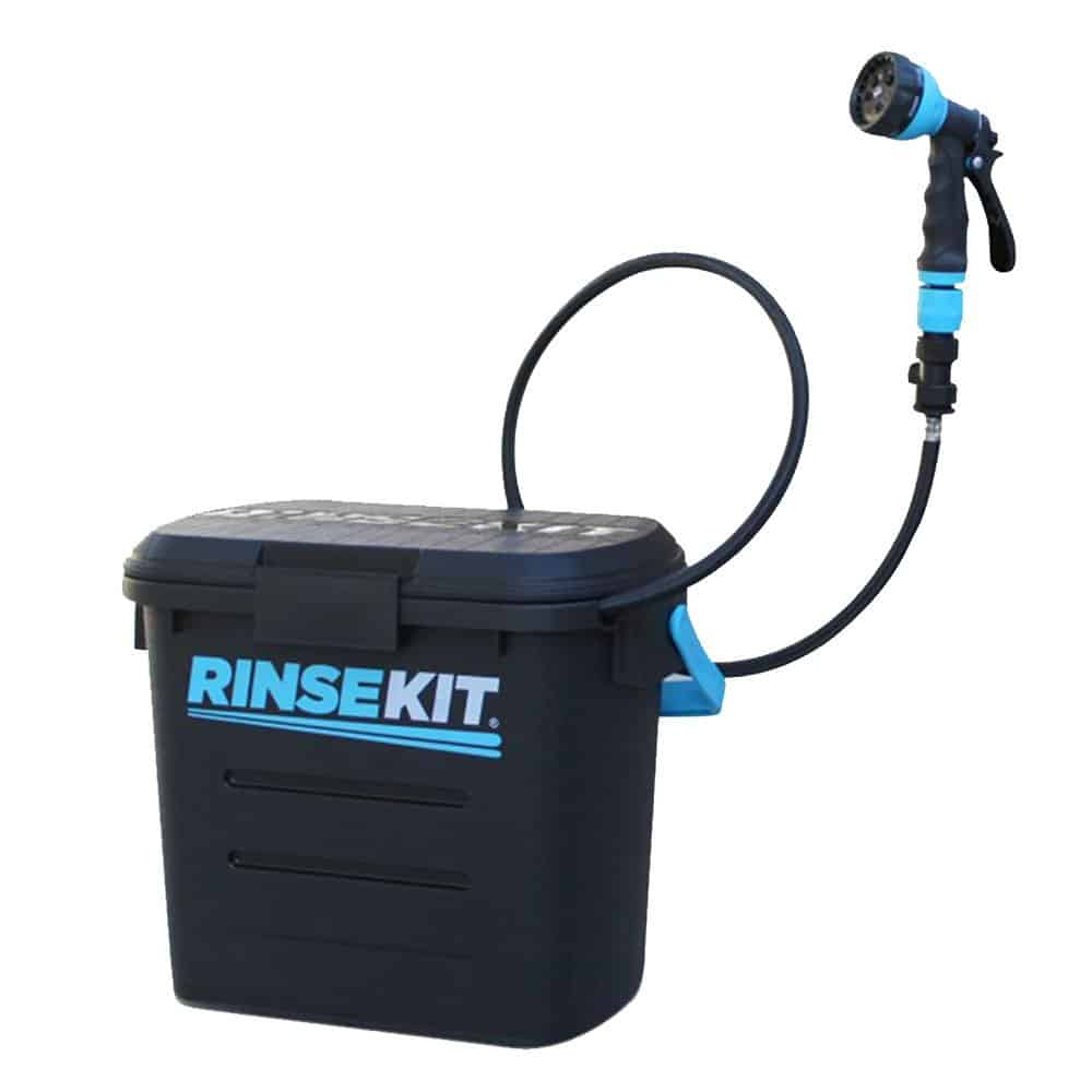 Rinse kit rinsekit pressurized portable shower