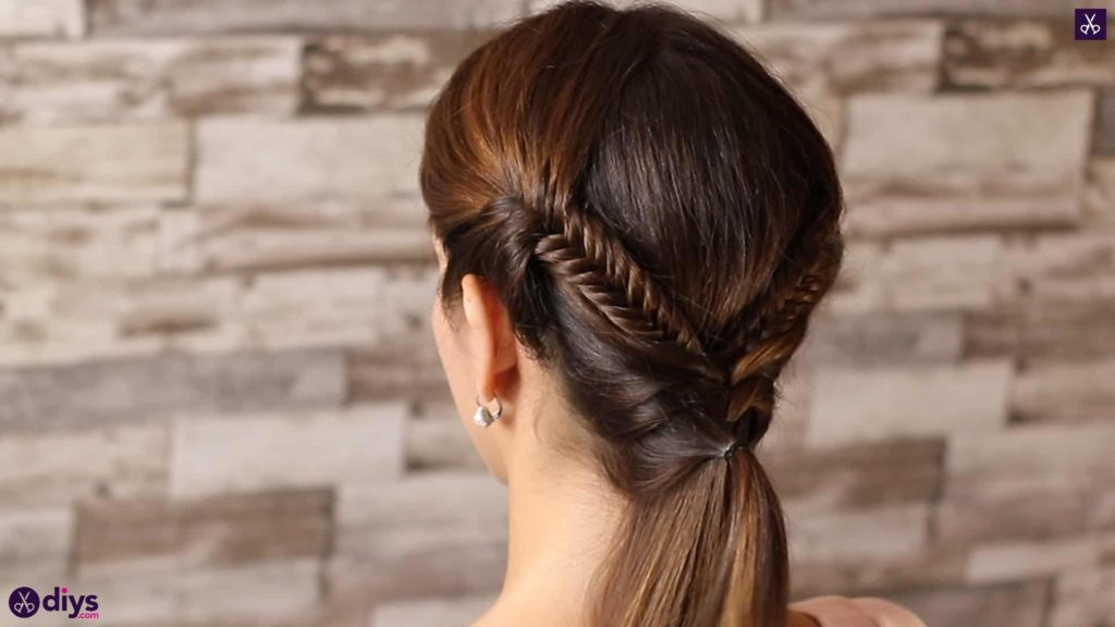 Romantic prom hairstyle tutorial step 4f
