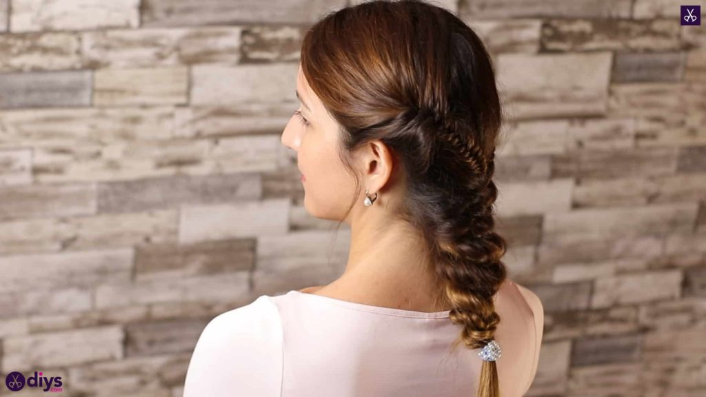 Romantic prom hairstyle tutorial step 5f
