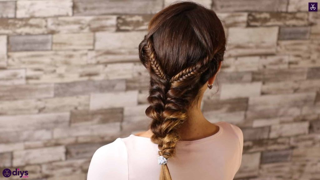 Romantic prom hairstyle tutorial step 5h