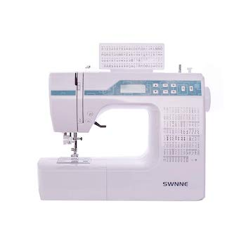 Swnne electronic sewing and quilting machine with 200 built in stitches