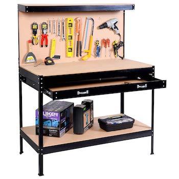 Safstar multipurpose workbench workshop tool storage tabletop workstation