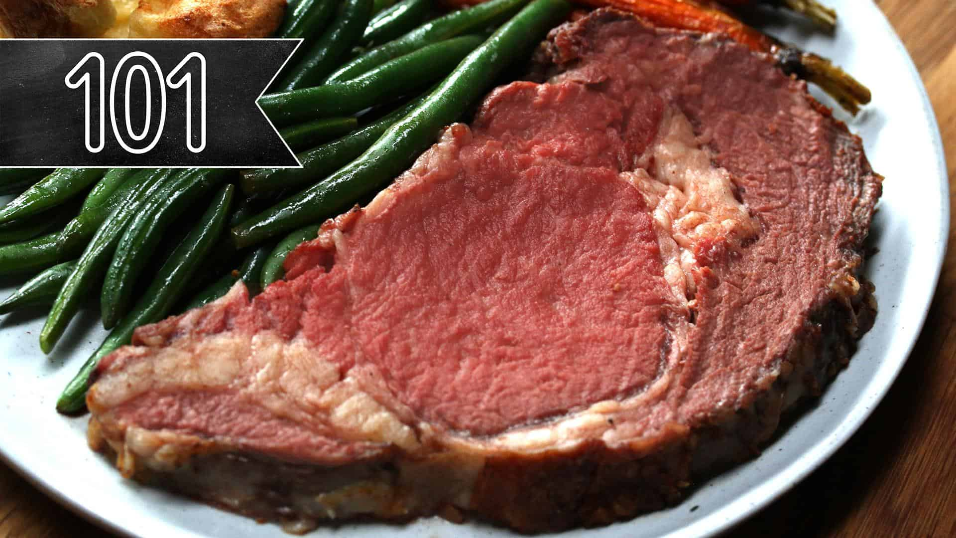 Simple, classic prime rib for beginners
