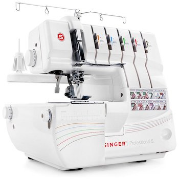 Singer | professional 5 14t968dc serger with multi threaded capability