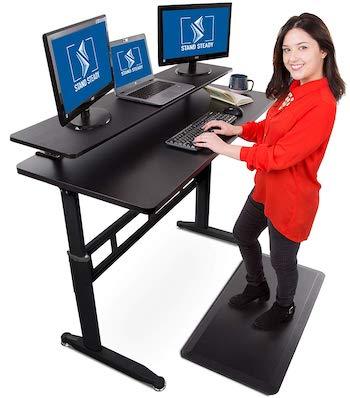 Stand steady tranzendesk 55 inch standing desk