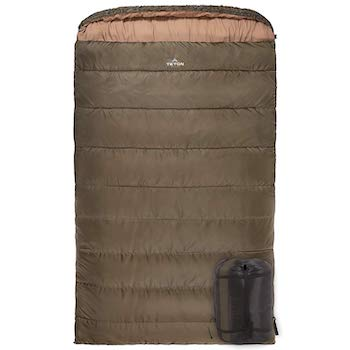 Teton sports mammoth queen size double sleeping bagå