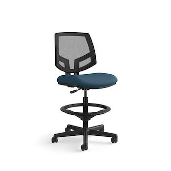 The hon company ga90 t hon volt mesh back task upholstered adjustable office stool