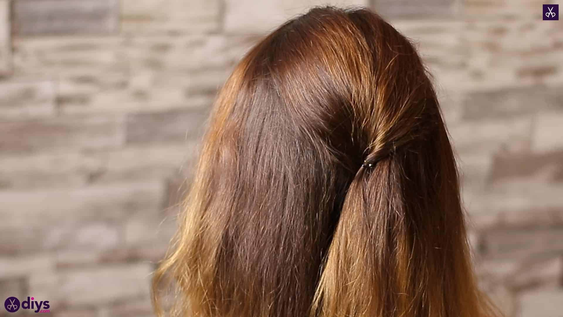 Updo hairstyle for wavy hair 26
