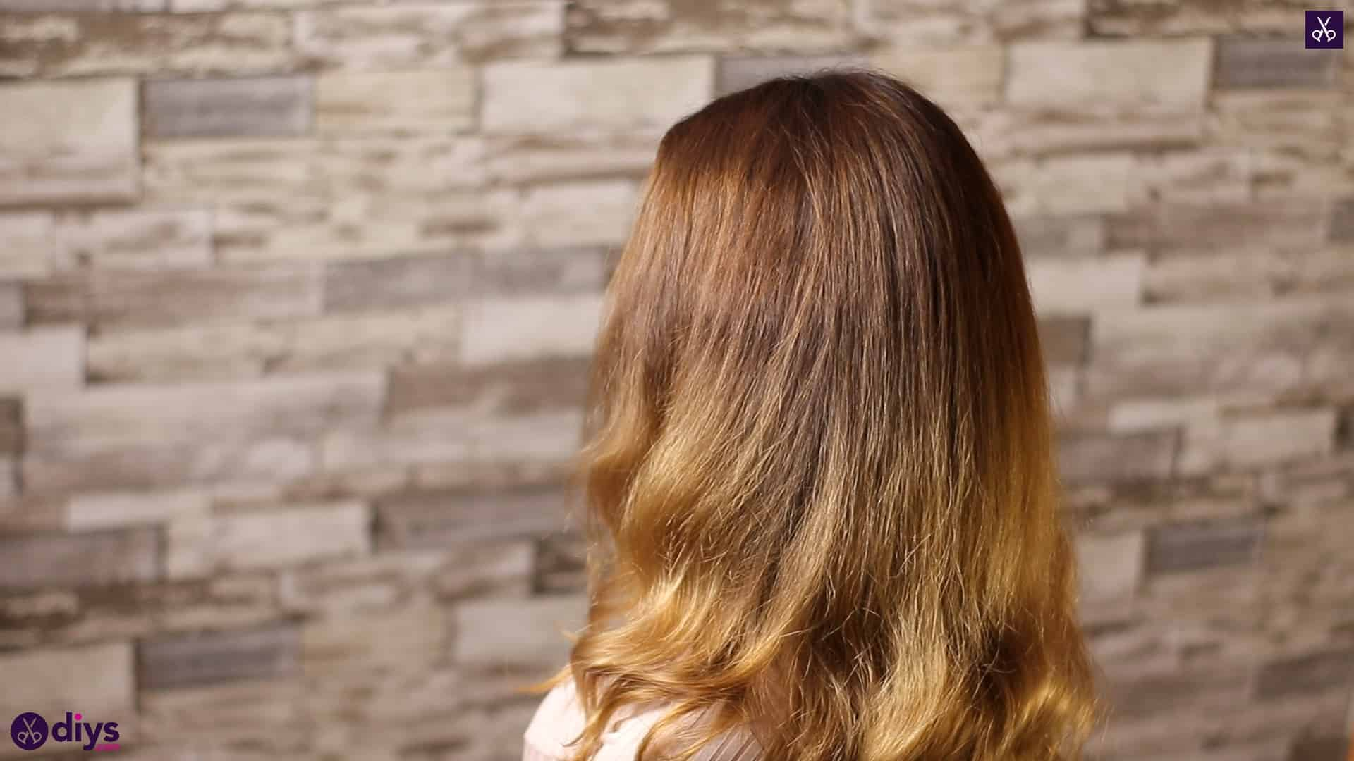 Updo hairstyle for wavy hair 6