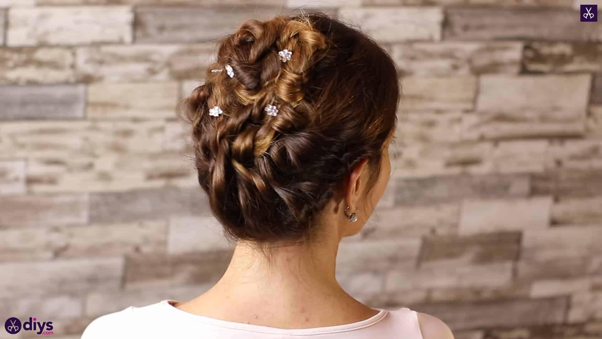 Wedding bun for bridesmaids 1
