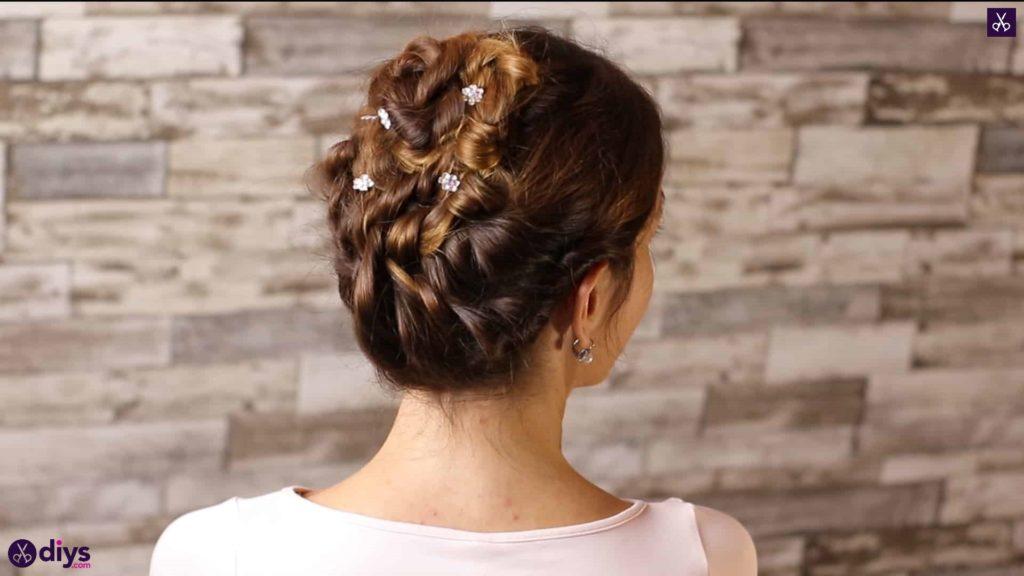 Wedding bun for bridesmaids2