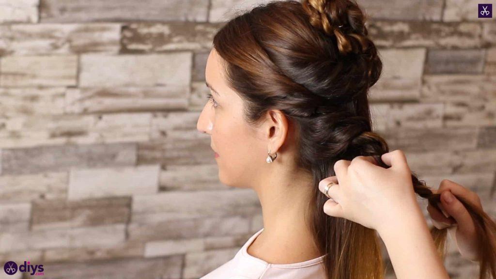 Wedding bun for bridesmaids21
