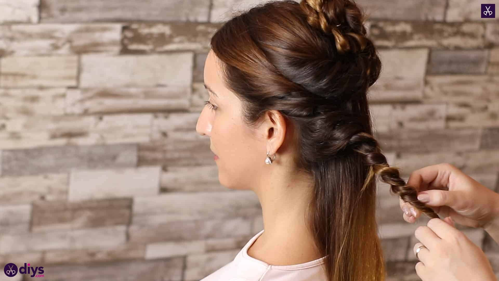 Wedding bun for bridesmaids22