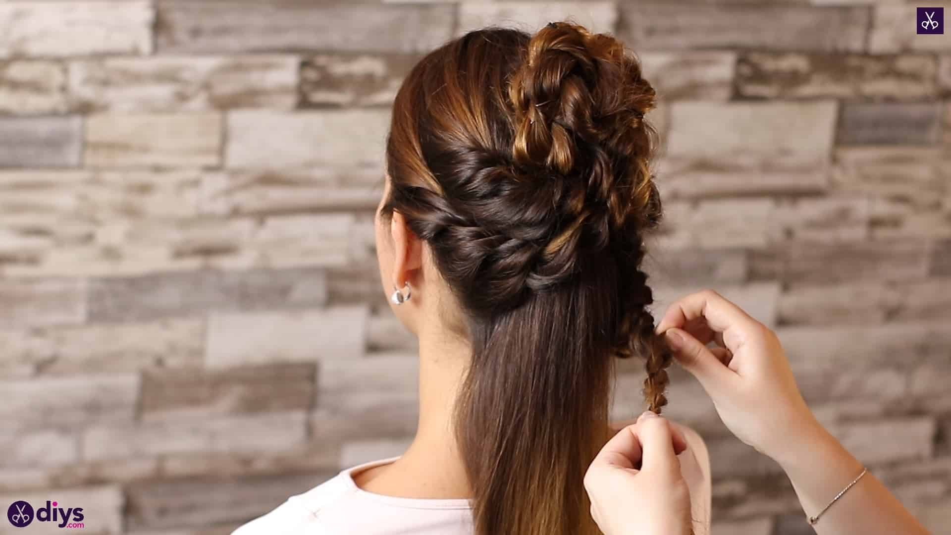 Wedding bun for bridesmaids32