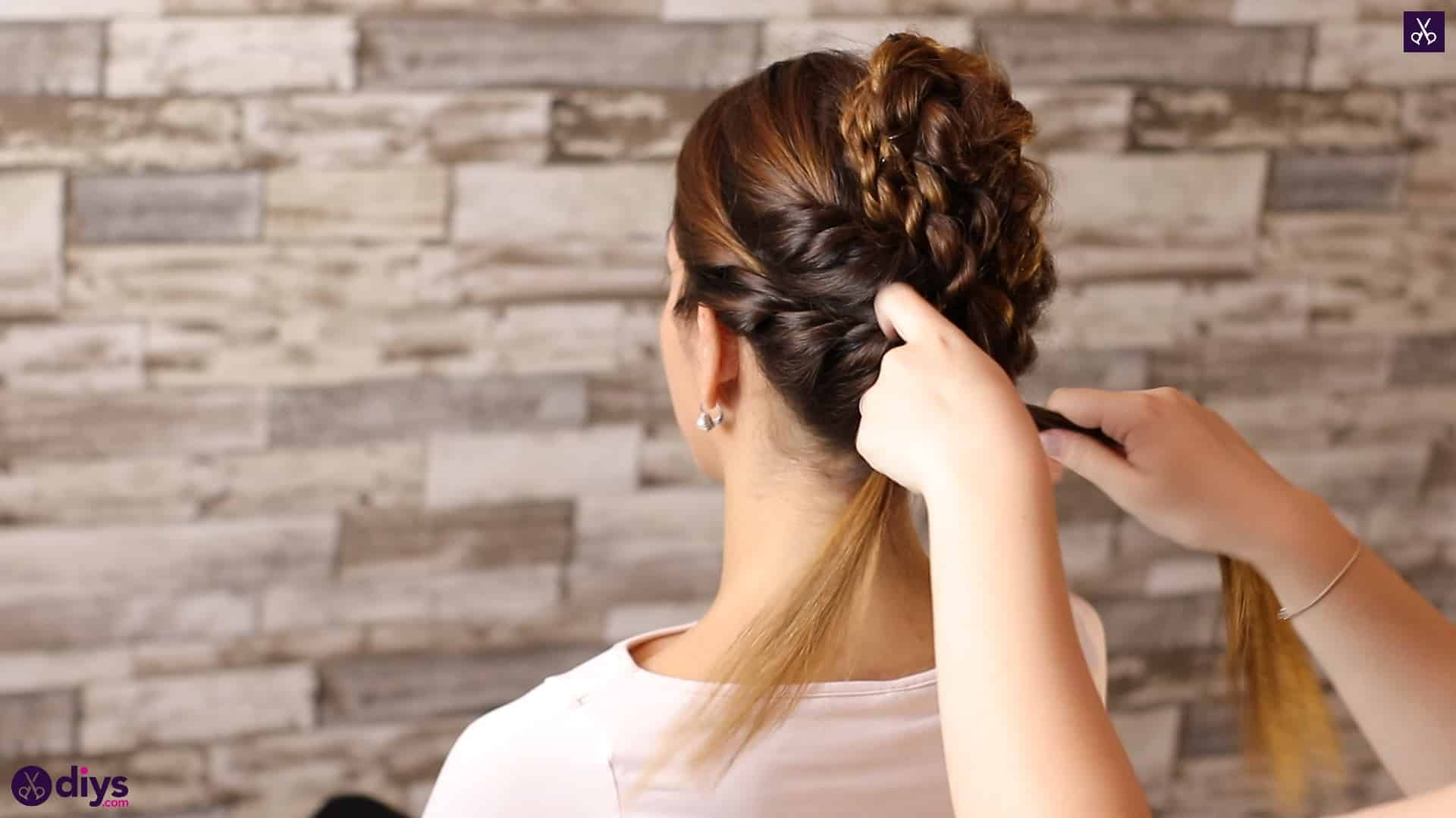 Wedding bun for bridesmaids37
