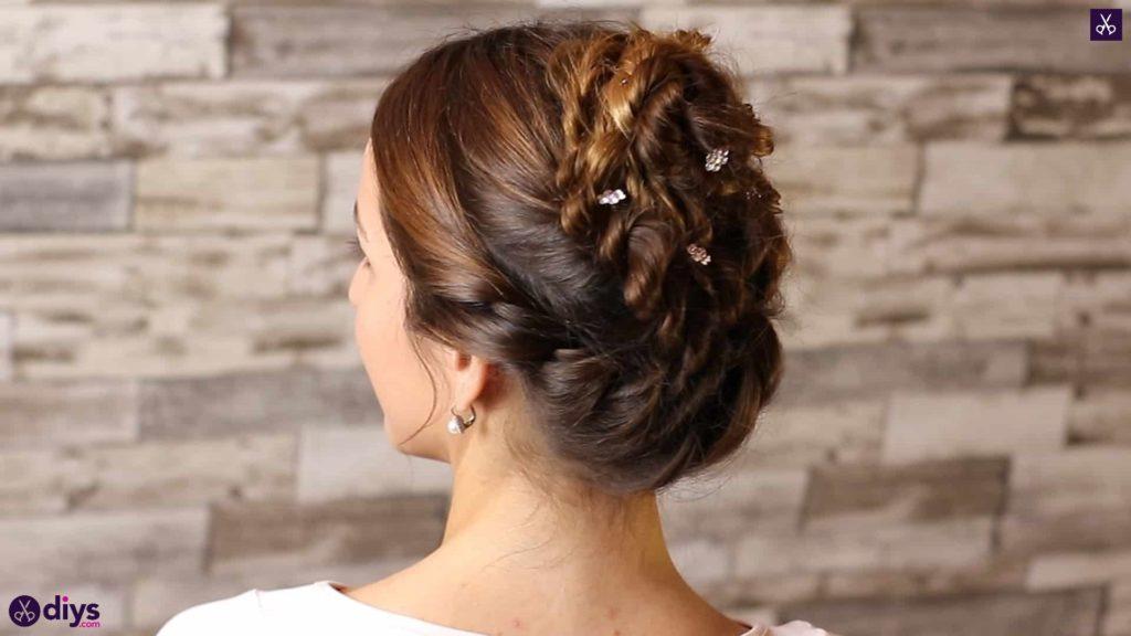 Wedding bun for bridesmaids4