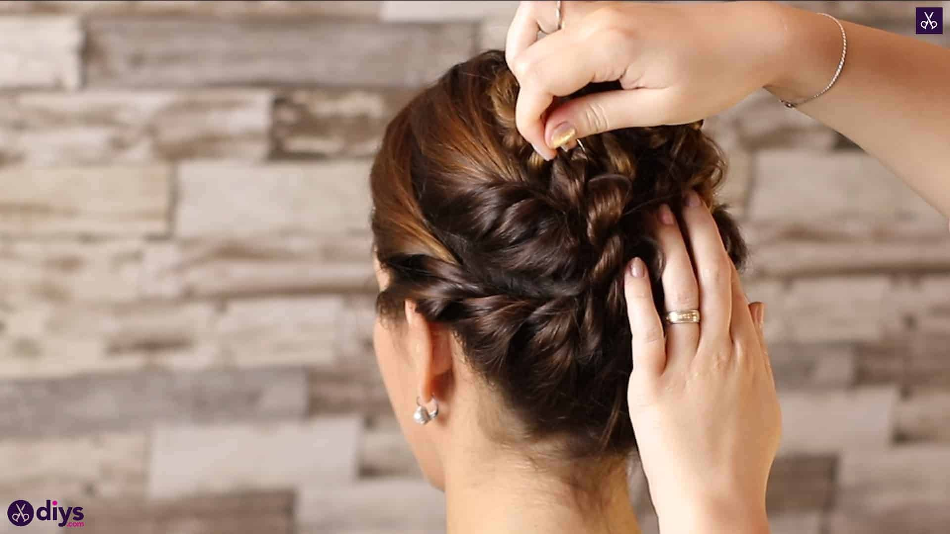 Wedding bun for bridesmaids43