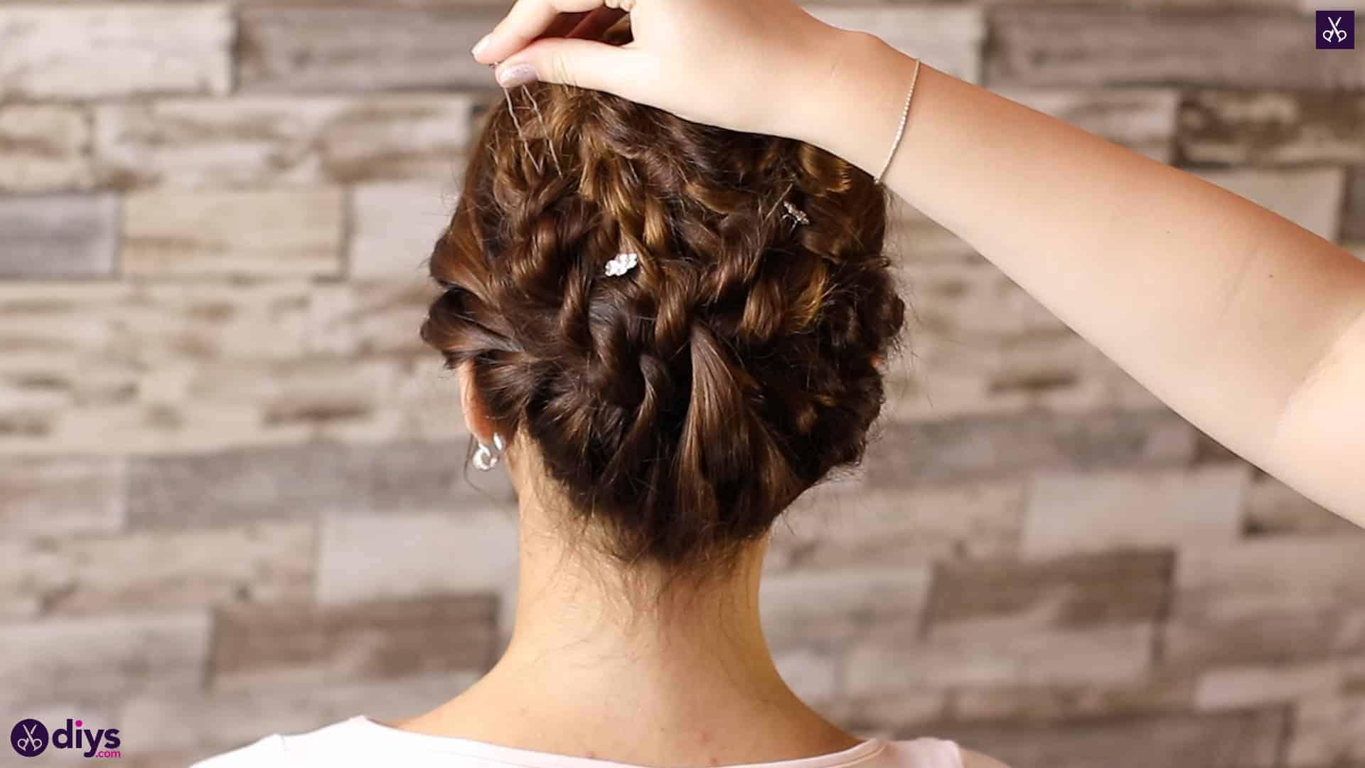 Wedding bun for bridesmaids45