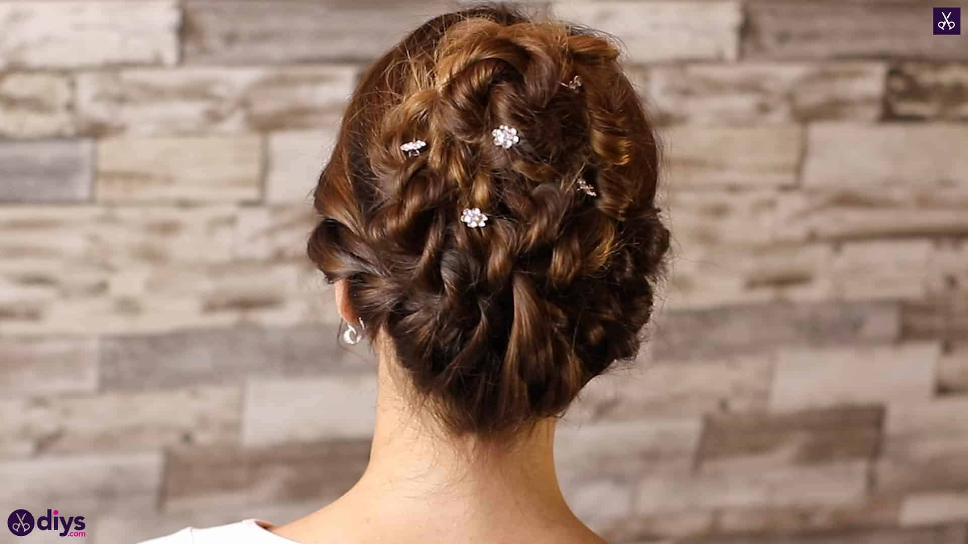 Wedding bun for bridesmaids47
