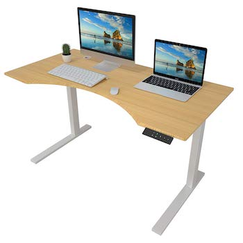 Zhu chuang height adjustable desk electric standing desk stand up desk
