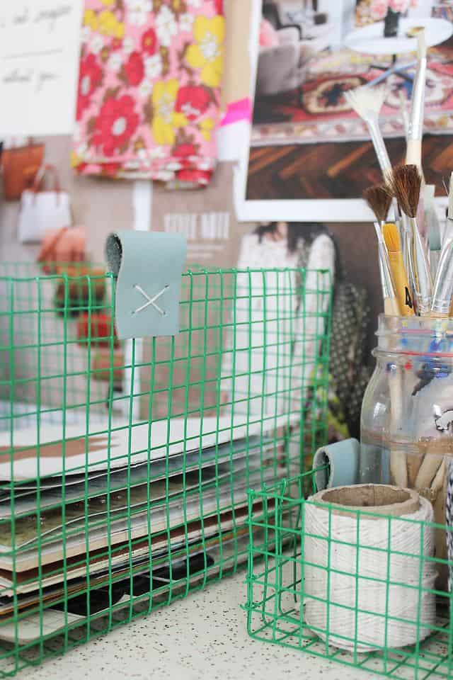 Customized wire baskets