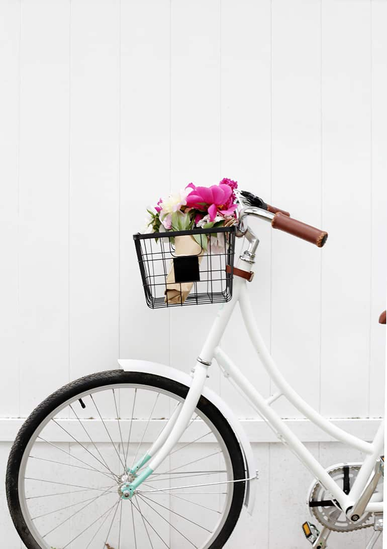 Diy wire bike basket