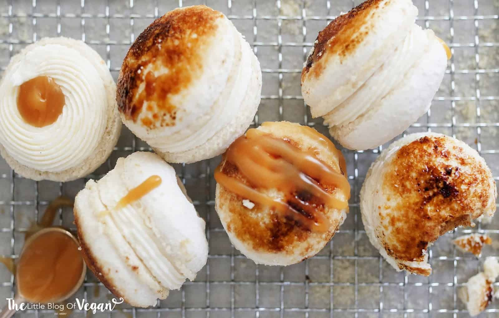 Vegan creme brulee macaron recipes