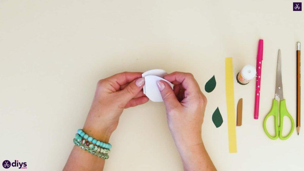 مرحله 5 کاغذ سیب کاغذی