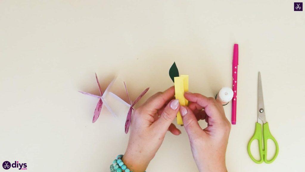 کاغذ سیب کاغذی مرحله 7
