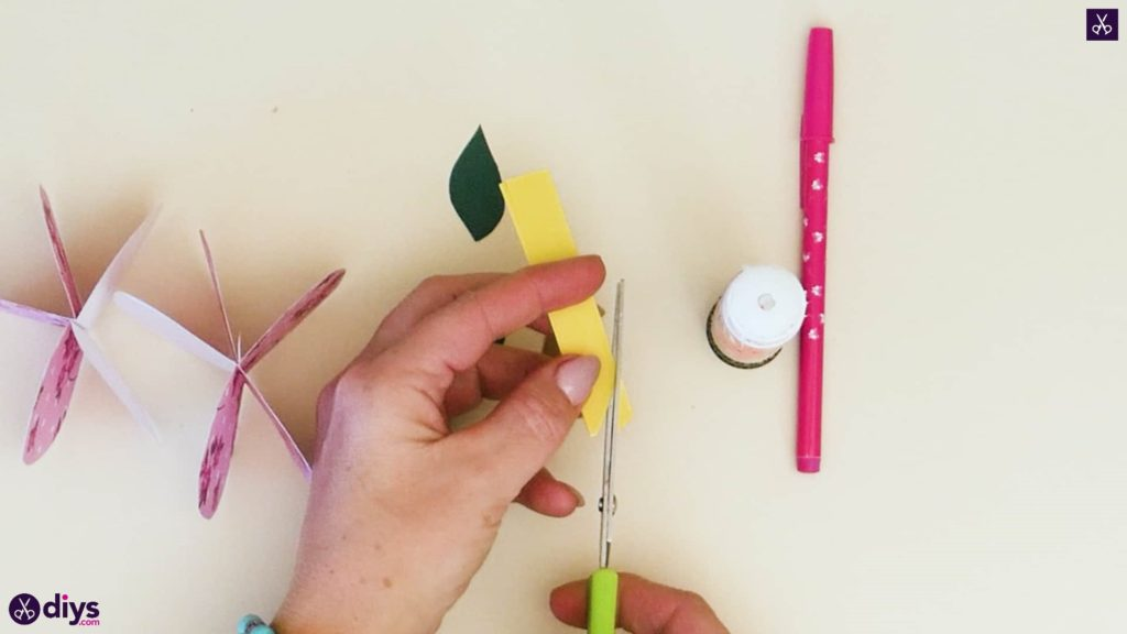 کاغذ سیب کاغذی مرحله 7a