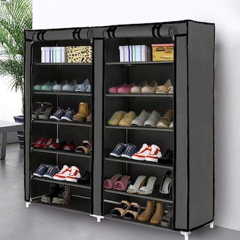 Blissun shoe rack shoe storage organizer