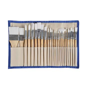 Conda 24pcs paint brushes
