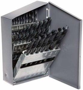 Chicago Latrobe 150 Series High-Speed Steel Jobber Length Drill Bit Set