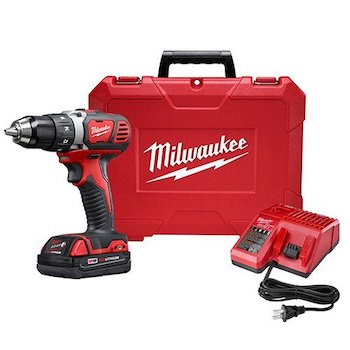 Click image to open expanded view milwaukee m18 18v lithium ion 1:2 inch cordless drill driver compact kit
