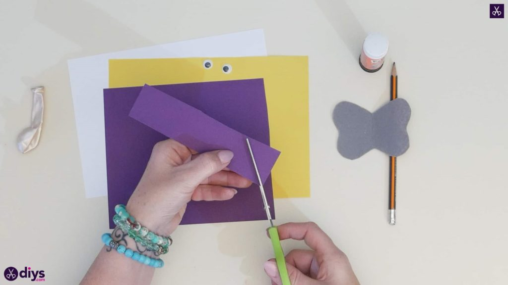 Diy balloon elephant card step 2