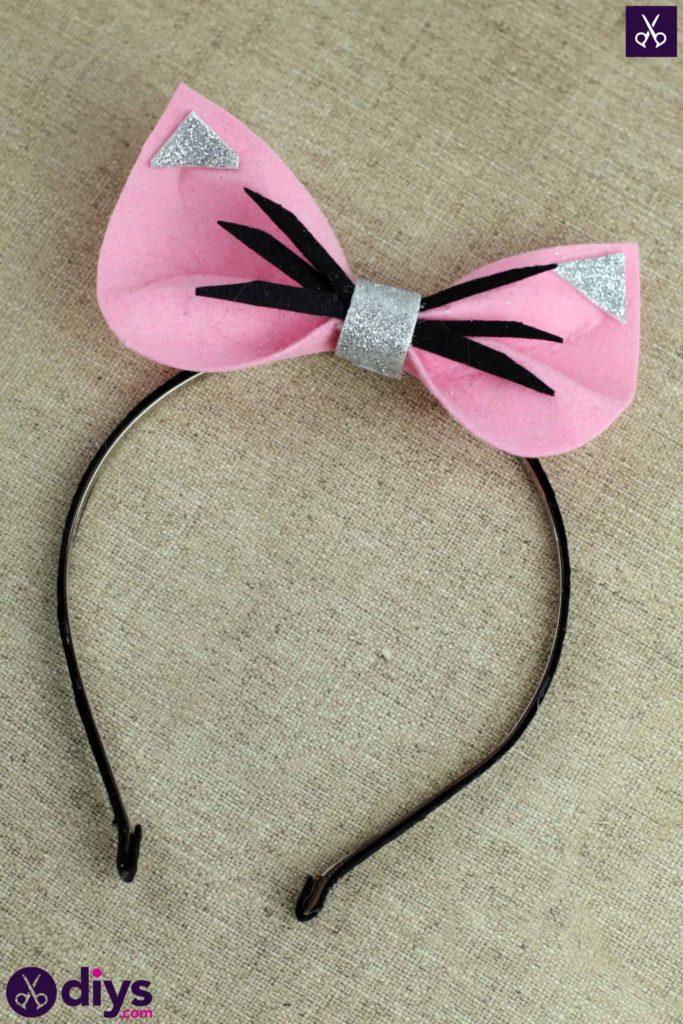 DIY Simple Cat Ears Headband