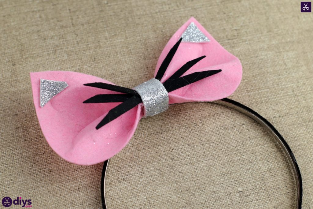 Diy cat ears headband simple project