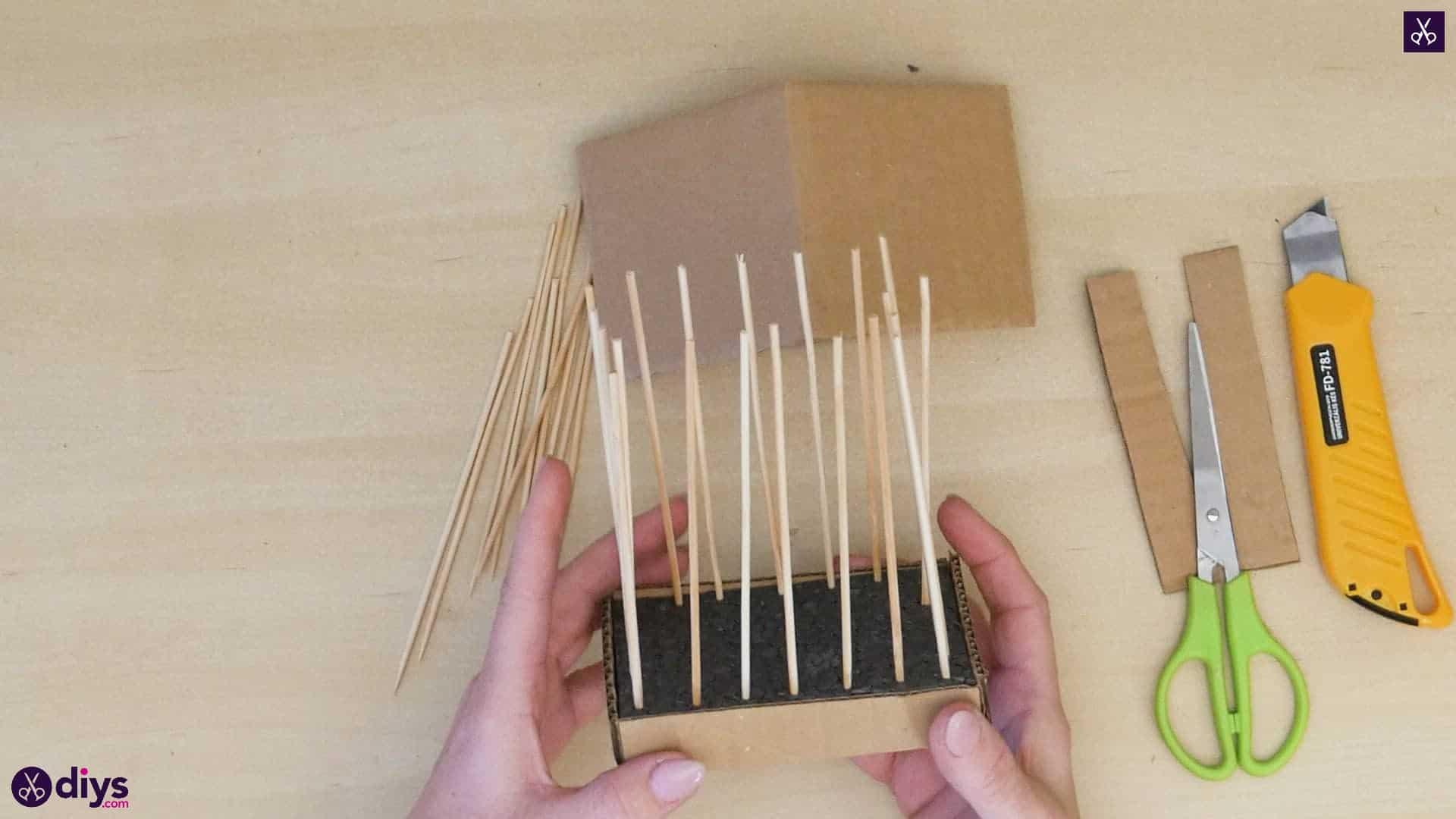 Diy miniature cage centerpiece step 7b