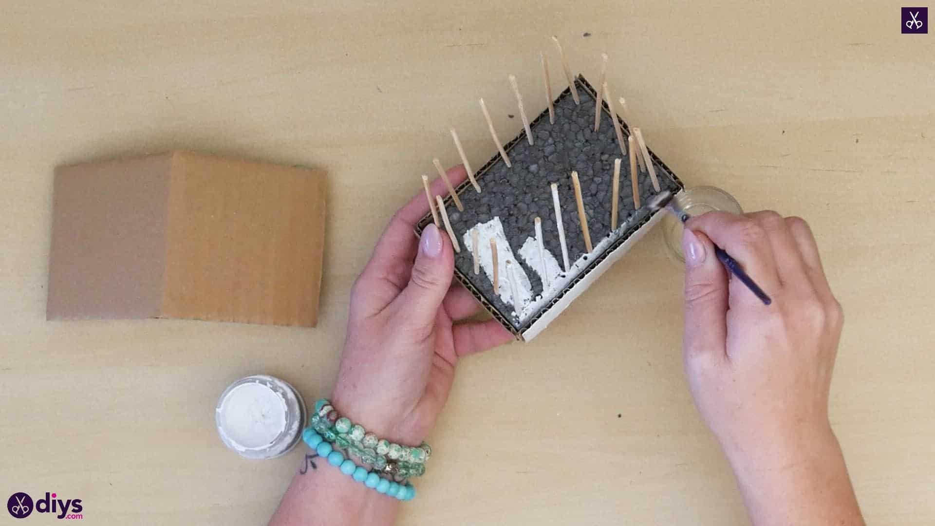 Diy miniature cage centerpiece step 8a