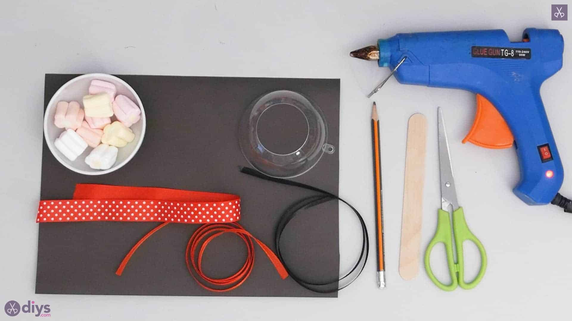 Diy minnie mouse candy holder materials