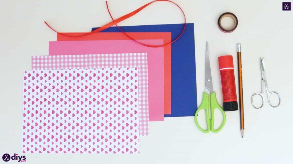 Diy pocketed gift tags materials